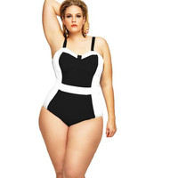 One Piece Plus Size Bathing Suit LAVELIQ SALE