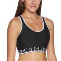 Under Armour Women's Armour® Mid Sports Bra Medium Black