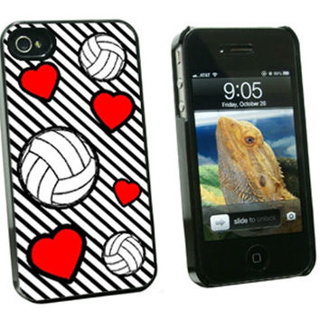 Volleyball Love iPhone 4-4S Case