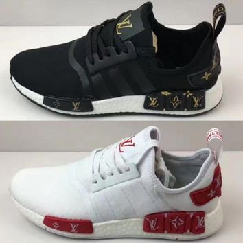V0NE05 Adidas NMD LV Trend sports casual shoes