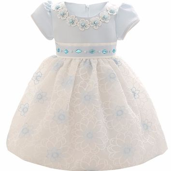 Kid Girl 1 Year Birthday Dress Baby Wear Brand Ceremony Party Dresses For Girl Wedding Christening Gown Newborn Bebes Vestidos