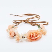 Dalia Floral Crown - Urban Outfitters