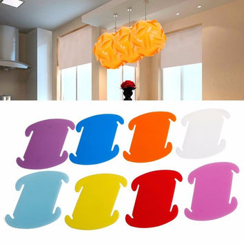 30Pcs Modern IQ Puzzle Jigsaw Light Lamp Shade Ceiling