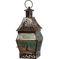 Tree of Life candle lantern