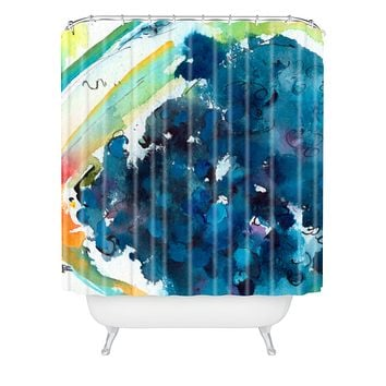 Ginette Fine Art Blueberries Shower Curtain