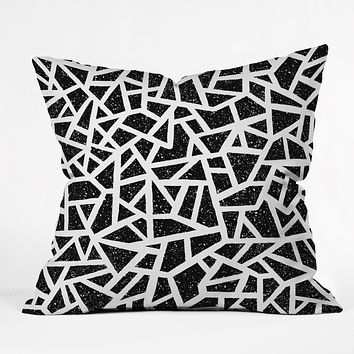 Nick Nelson Frenetic Throw Pillow