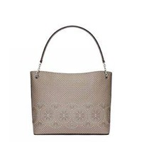 TB Zoey Center-Zip Tote One Size French Gray