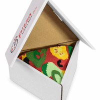 1 Pair Pizza Socks Box Vegetarian Original Unique socks Made in UE ideal for gift, Surprise your friends! High QUALITY cotton