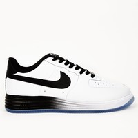 Nike Mens White Lunar Force 1 NS PRM Sneakers