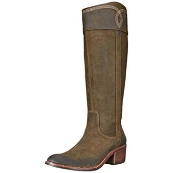 Donald J. Pliner Womens Willi Knee High Cowboy, Western Boots