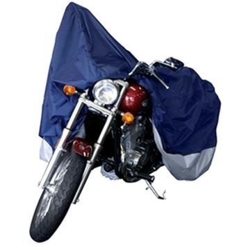 Dallas Manufacturing Co. Motorcycle Cover - XL - Model B Fits Retro Cruisers & Touring Models up to 1500cc Full Dress