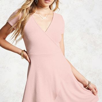 Heathered Skater Dress