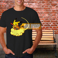 pokemon dragons pikachu dragon ball T-shirt by HOLOHOP