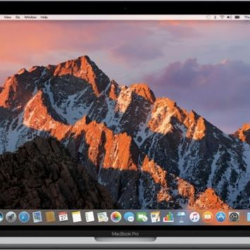 "Apple - MacBook Pro® - 15"" Display - Intel Core i7 - 16 GB Memory - 256GB Flash Storage (Latest Model) - Space Gray"