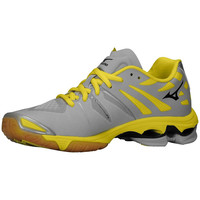 Mizuno Wave Lightning Z Women's Volleyball Shoes - Gray Yellow