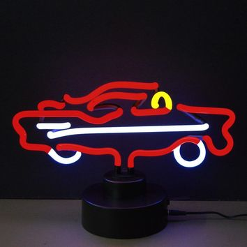 57 Car Neon Sculpture