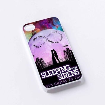 sleeping with sirens galaxy iPhone 4/4S, 5/5S, 5C,6,6plus,and Samsung s3,s4,s5,s6