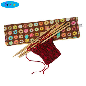 NEW! Double Pointed Knitting Needle Cozy-Donuts DPN Holder-Knitting Notions-Knitter Gift