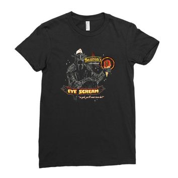 eye scream Ladies Fitted T-Shirt