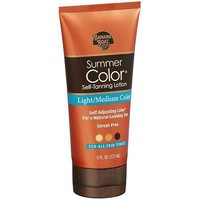 Banana Boat Summer Color Sunless Tanner Lotion 6oz.
