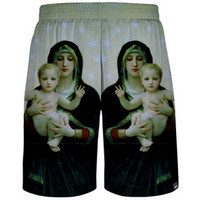 Mother Mary Mesh Shorts