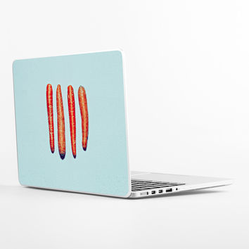Weird Carrots Laptop Skin