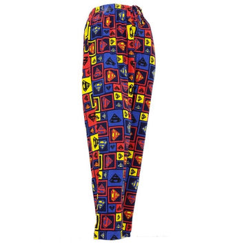 Superman - Squares Sleep Pants = 1946133188