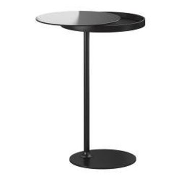 "IKEA STOCKHOLM Side table, black - 14 1/8 "" - IKEA"