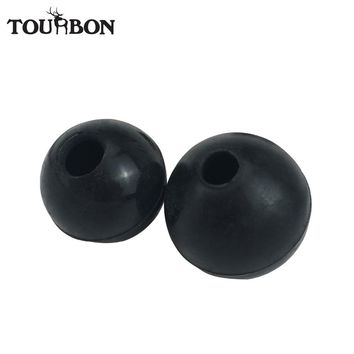 Tourbon Hunting Gun Accessories Shooting Rifle Bolt Handle Knob Rubber Ball Grip Cover Black Water Resistant
