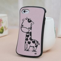 New Cartoon Giraffe Case for Iphone 4/4s