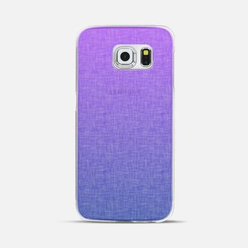 Purple/Blue Ombre with Texture by Lyle Hatch Galaxy S6 Edge case by Lyle Hatch | Casetify