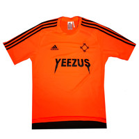 Adidas x Yeezus Soccer Jerseys in Solar Orange