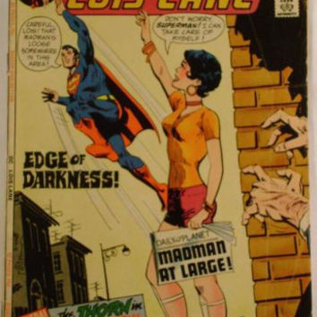 DC Comics Supermans Girl Friend Lois Lane No 118 Edge Of Darkness January 1972