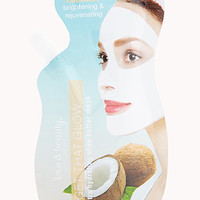 FOREVER 21 Ultra-Hydrating Coconut Face Mask Blue/White One