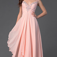 Floor Length Prom Dress with Sweetheart Neckline