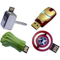 The Avengers USB 8GB Flash Drive Set Of 4