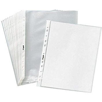 """TYH Supplies Box of 200 Economy 11 Hole Clear Sheet Protectors, 8-1/2"""" x 11"""" Non Vinyl Acid Free"""