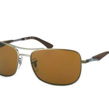 NEW Ray Ban RB3515 02983 ACTIVE LIFESTYLE Matte Gunmetal Mens Sun Polarised