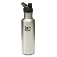 Klean Kanteen 27Oz Classic Canteen Brushed Stainless One Size For Men 23633914001