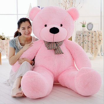 "Giant Cute Soft Toys Teddy Bear for Girlfriend 47"" 120CM Pink Gift Ideas"