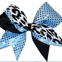 Cheer Bow - Confetti Dot (9 Colors Available)