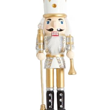 Golden Nutcracker Figurine