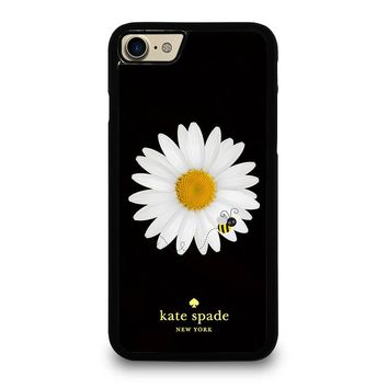 KATE SPADE BEE AND FLOWER iPhone 4/4S 5/5S/SE 5C 6/6S 7 8 Plus X Case