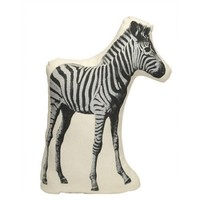Fauna Pico Zebra Pillow by Areaware