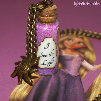 Tangled Rapunzel I See The Light Magic by LifeistheBubbles on Etsy
