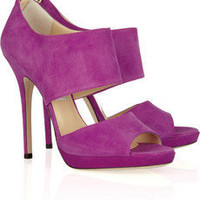 Jimmy Choo | Private suede sandals | NET-A-PORTER.COM