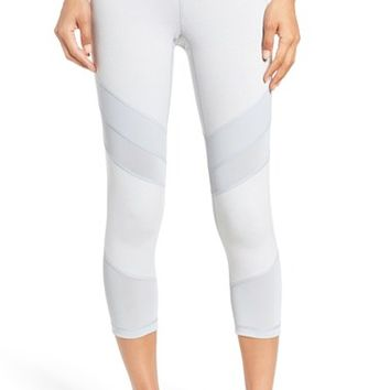 Zella 'Live In - Electric Mix' Crop Leggings | Nordstrom