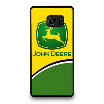 JOHN DEERE 2 Samsung Galaxy Note 7 Case Cover
