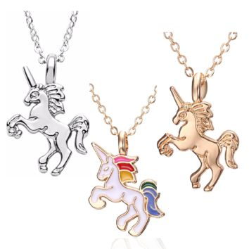 ON SALE - A Little Fantasy Unicorn Necklace