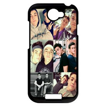 Ethan And Grayson Dolan Twins HTC One S Case
